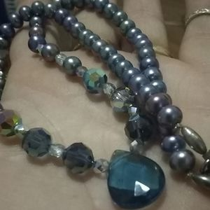 Real Pearl/Sterling necklace!